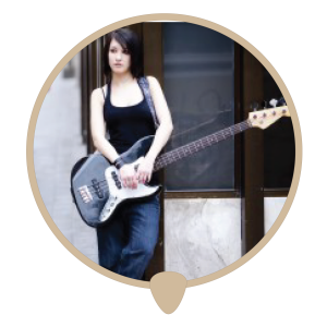 Bass bus stop icon - Learn bass. Bass lessons, classes and teachers in Sydney City.