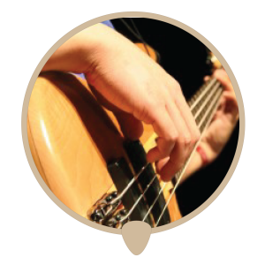 Bass right icon - Learn bass. Bass lessons, classes and teachers in Sydney City.