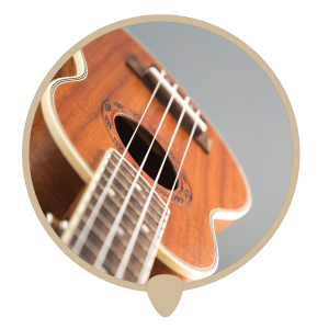 Ukulele hole icon - Learn ukulele lessons, teachers and classes in Sydney