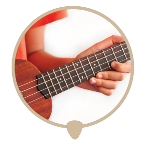 Ukulele neck icon - Learn ukulele lessons, teachers and classes in Sydney