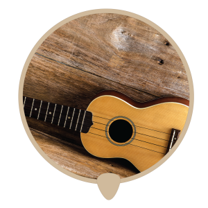 Ukulele side icon -  Learn ukulele lessons, teachers and classes in Sydney