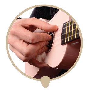 Ukulele strum icon - Learn ukulele lessons, teachers and classes in Sydney